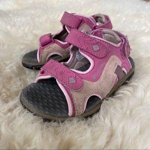 Columbia Velcro Strap Castlerock Supreme Sandals